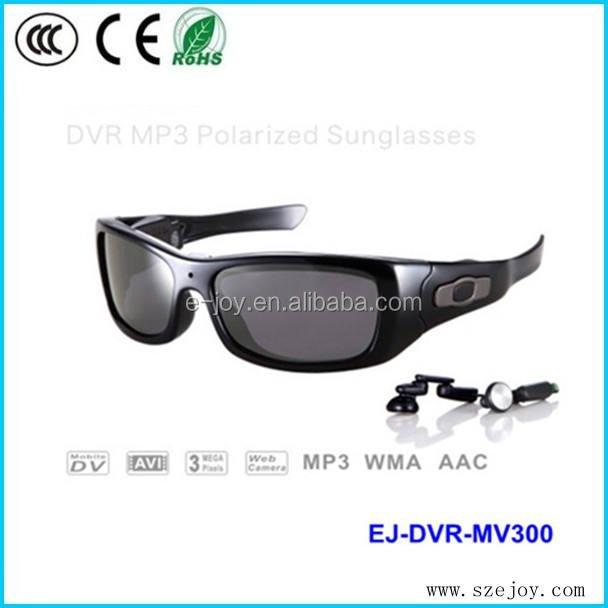 Hd <span class=keywords><strong>1280x720p</strong></span>@30fps bluetooth mp3 sunglass video kamera polarize lens