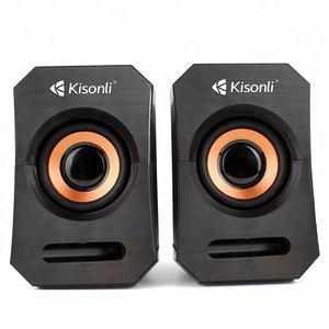 Komputer Subwoofer 2.0 Mini Multimedia USB 2.0 Speaker dengan Kabel