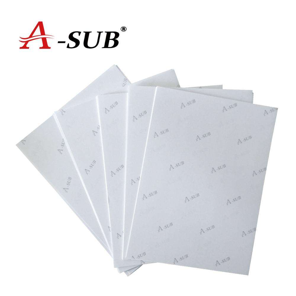 Imported Base Paper A-SUB 125G Instant Dry A3*100 Heat Sublimation Transfer Paper