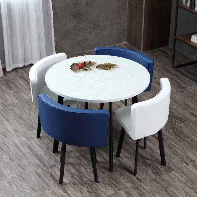 Philippine space-saving fast food restaurant dining set