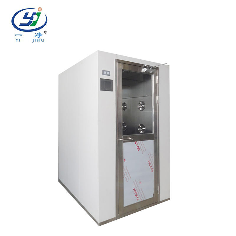 Complete production line portable air shower for clean rooms