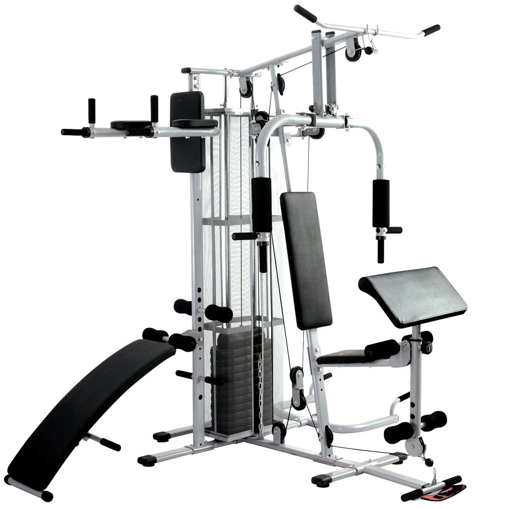 Deluxe Home Gym station with 45kg weight stacks