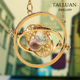 Fashion film harry jewelry potter gold plated time turner hourglass necklace