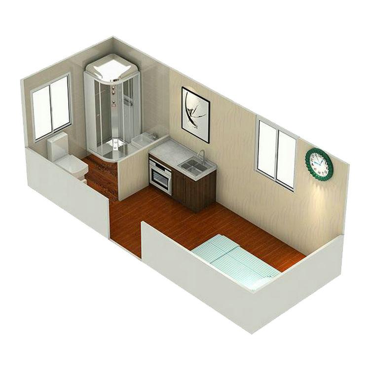 Новый стиль, высокое качество коммерческих гладкой складной контейнер дом