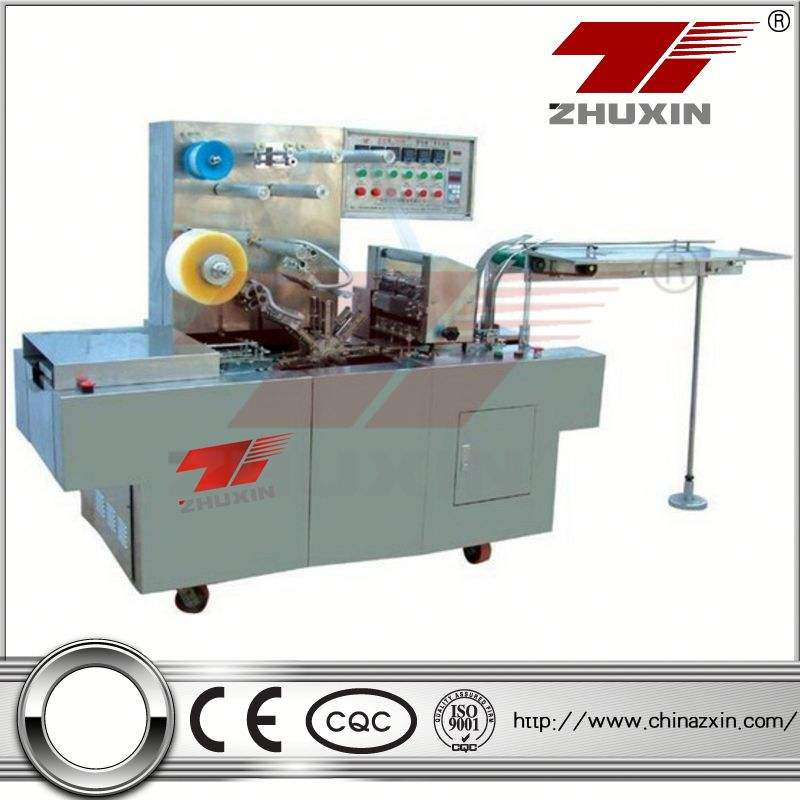 map packaging machine