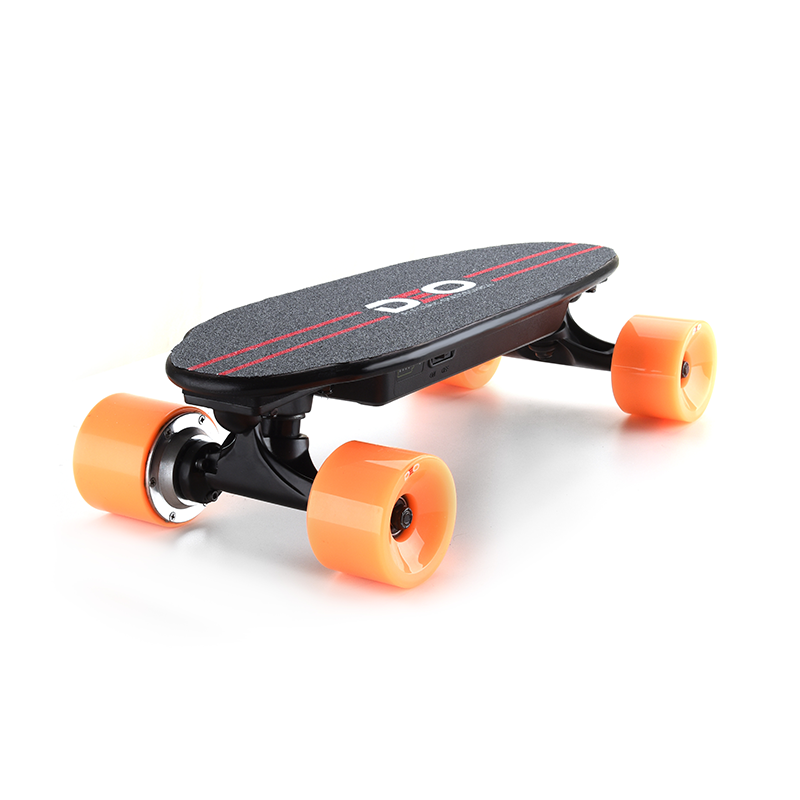 Deo NEW Portable Backpack Electric Skateboard Motored Board With Replaceable Hub Motor Skateboard