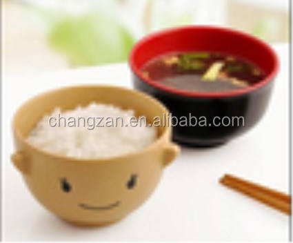 Cartoon Japanese bowl with child Bowl instant noodles doll bowl tableware gift