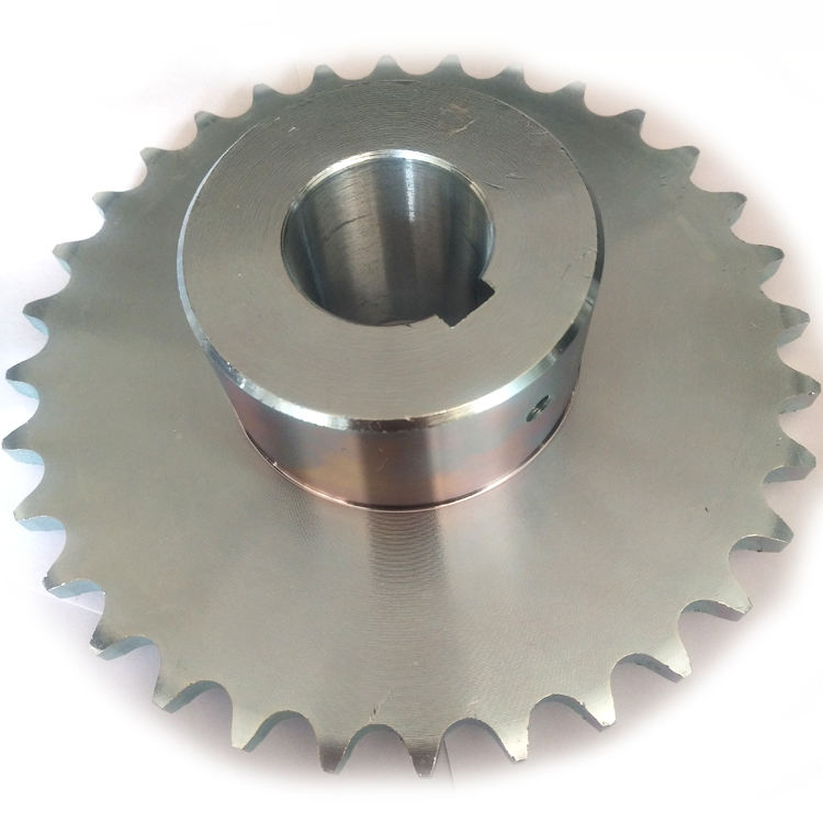 factory sprocket for cultivator zinc plated sprocket for machine parts