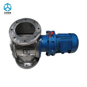 Factory manufacturing airlock rotary valve feeder for power granules pellets