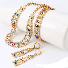 62861 xuping Best selling blue fashion eye cheap fashion wholesale muslim islam jewelry