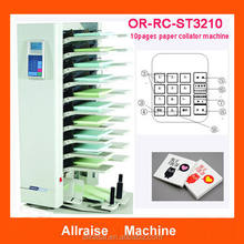 Crisscross Stacking Paper Collator A3 A4 B4 A5 B5 Paper Gathering Machine