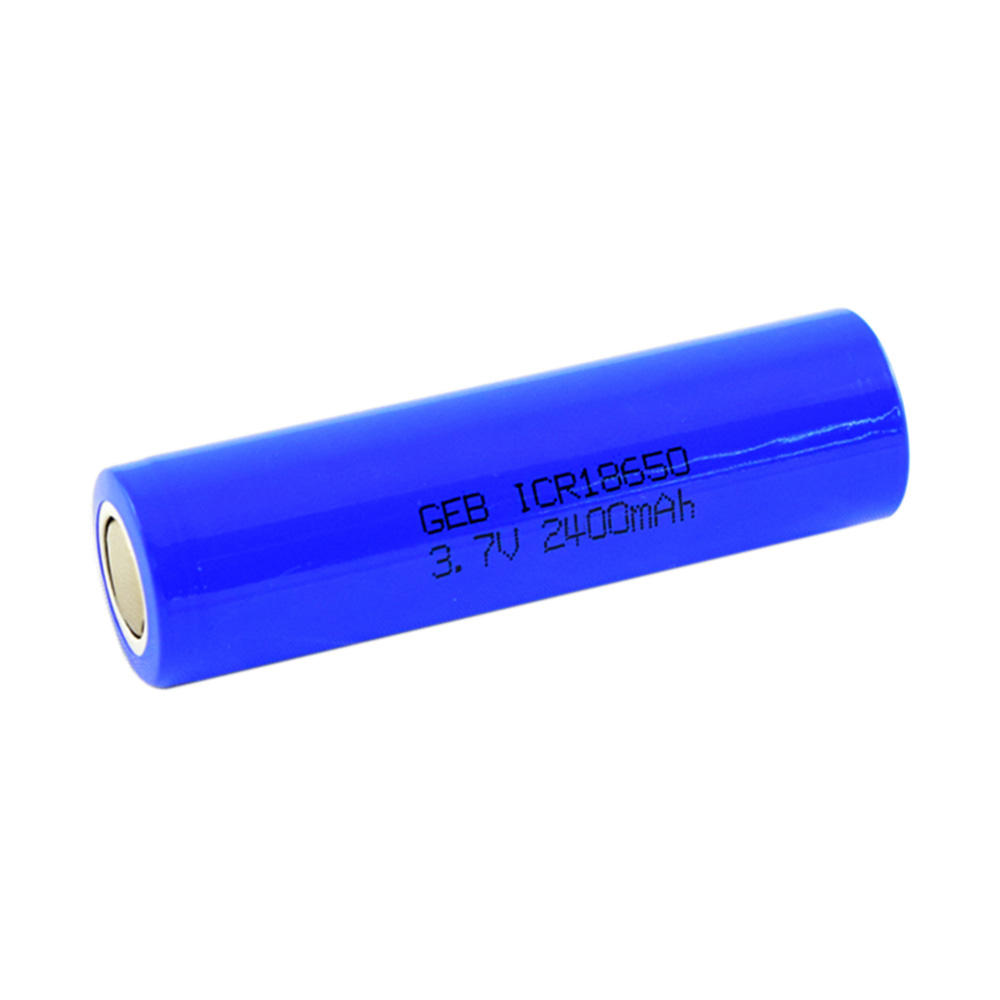 Hot sale rechargeable 3.7v 2400mah 18650 li-ion battery for E-bike battery