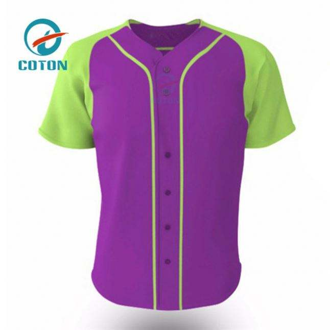 High Quality Polyester Print Bulk T Shirts Baseball Shirt Size 8 Jersey Dresses For Women