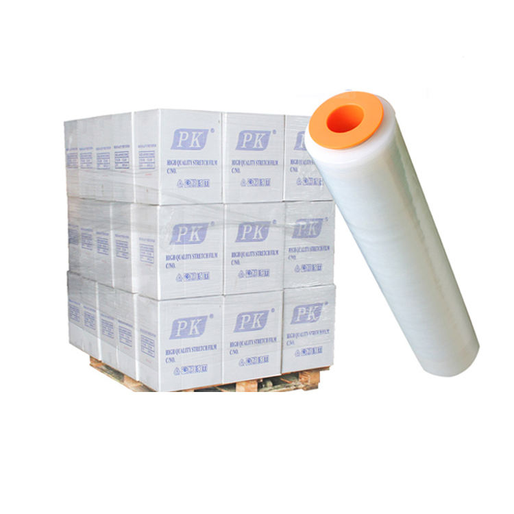 factory PE stretch film Pallet wrapping for carton packaging