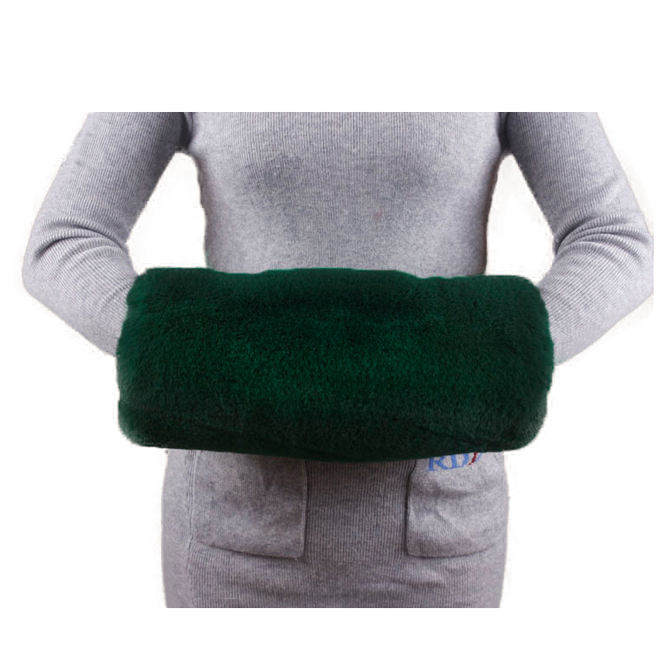 The Latest Multi-Color Winter Protection Warm Faux Fur Hand Muff