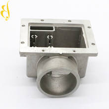 precision cnc aluminum auto spare parts alum inlet and outlet tank