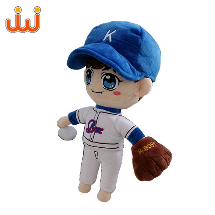 Beautiful Girls Fashion Plush Stuffed Fabric Cute Doll Toys Wholesale fashion doll