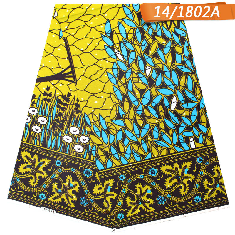 Factory price High Quality veritable block prints african wax prints fabric 100% cotton