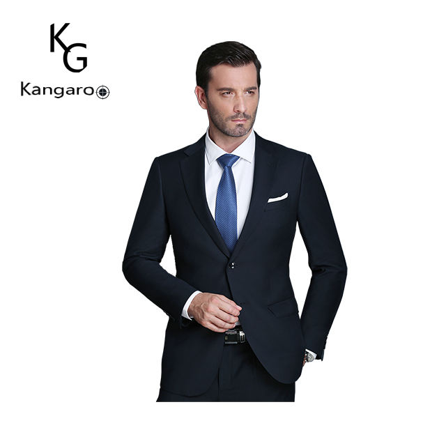 Branded Slim Fit Bespoke Anti Krimpen Pak Voor Mannen