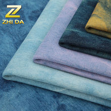 Wholesale fabric china 100% cotton twill denim fabric for clutch bag