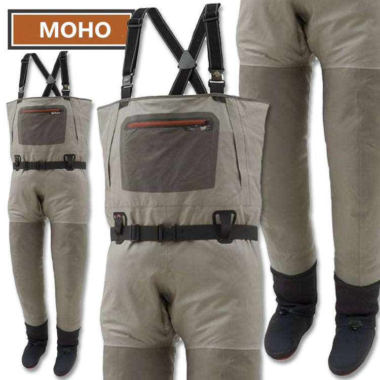 Good quality MHW018 breathable fabric Chest fishing waders