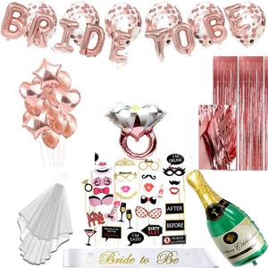Yiwu Hen Party Supplies Bride To Be Sash Bachelorette Party Decorations Kit