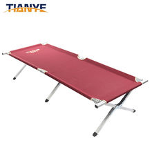 High quality camping Travel Bed folding beach bed