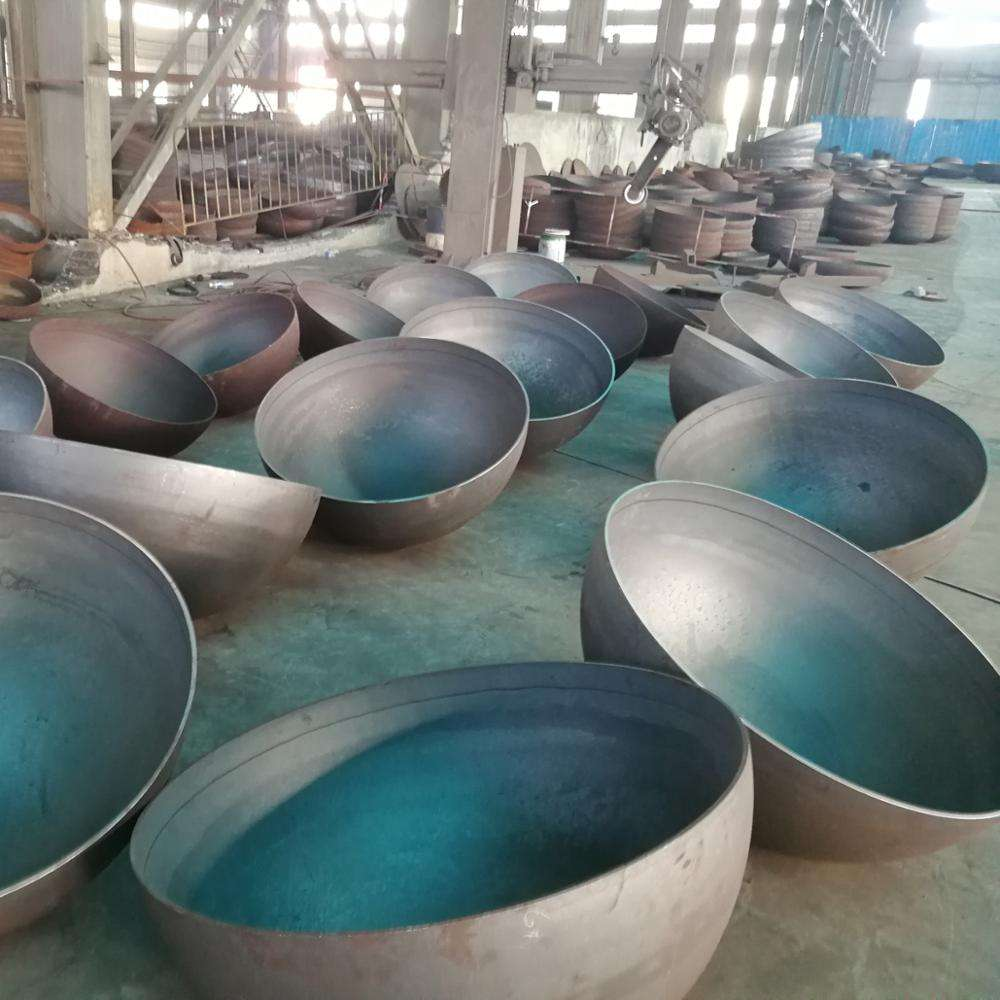 Thickness 4mm - 8mm Diameter 500mm - 2000mm Mild Steel Hemisphere