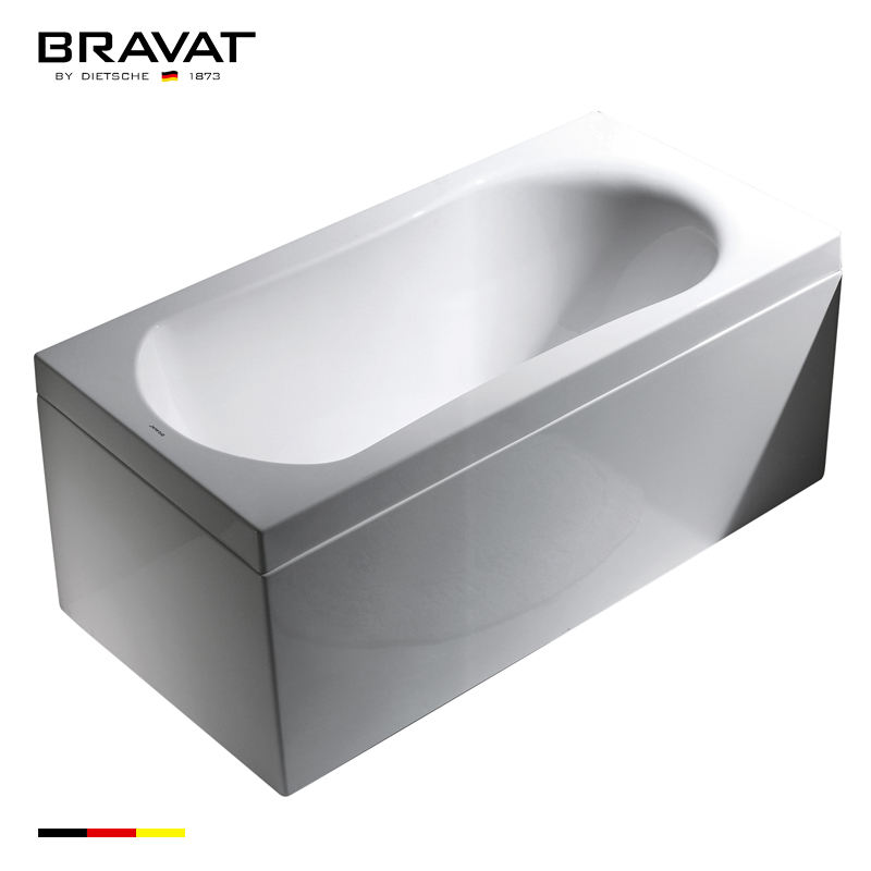 Designed for an alcove style installation bottom price korea swim message bathtub outdoor spa