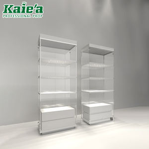 High quality jewellery display cabinet and display plywood jewellery showcase for jewelry shop