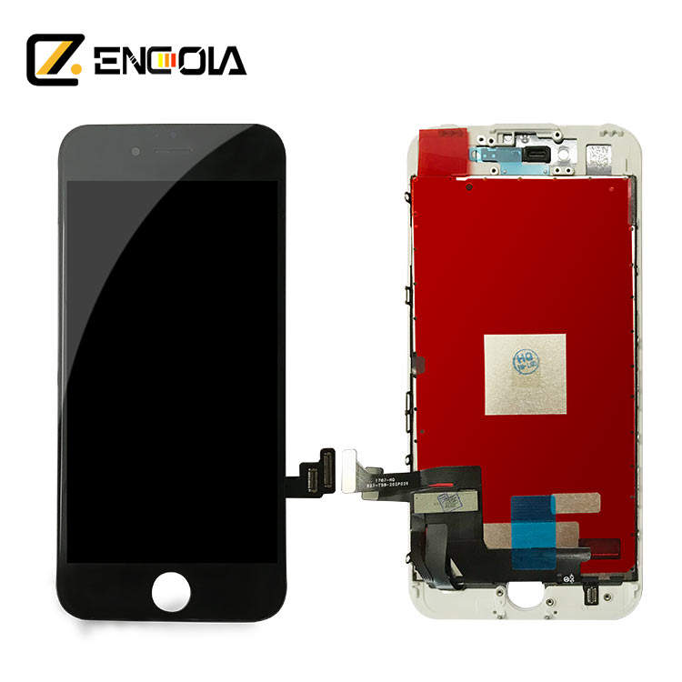 LCD Display Touch Screen Digitizer Full Assembly Replacement for iPhone 7 Front Camera+Ear Speaker+Home Button+Tool Kit
