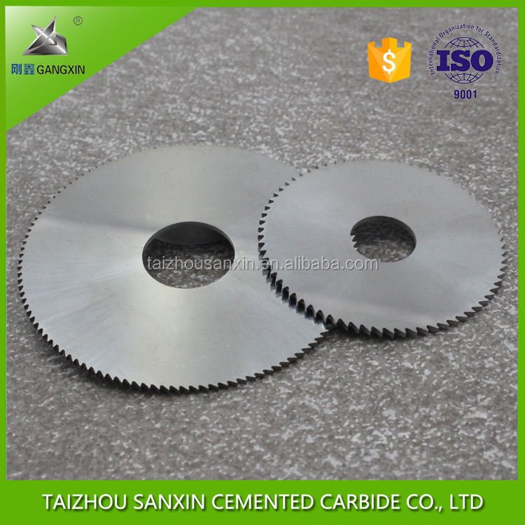 tungsten carbide circular saw blade for cutting stainless steel, for grooving/wood cutting saws