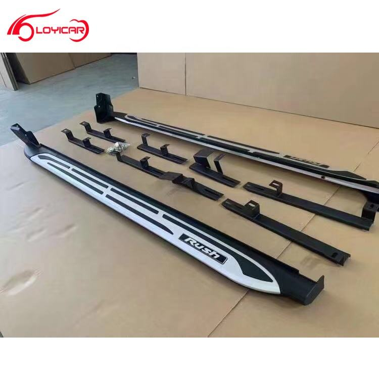 New Developed Running Boards Side Nerf Steps for Toyota Rush 2018-2019