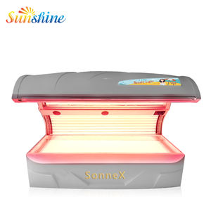 Sunshine W6-H lay down collagen machine /PDT collagen beauty bed for commercial salon spa