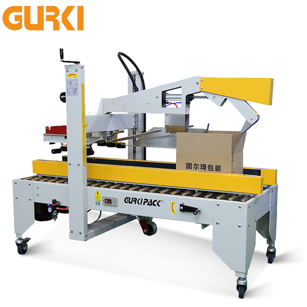 Ce Approved Carton Top Flaps Fold Automatic Case Sealer Machine