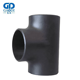 High Quality stainless steel ASME B16.9 butt weld black pipe tee 14 inch
