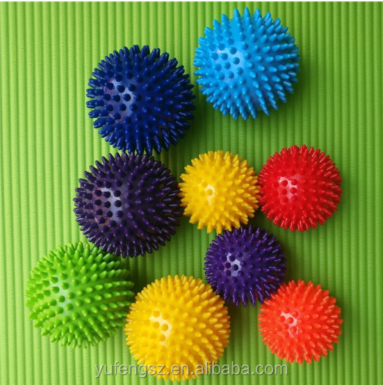 Colorate di Alta Densità Piede Mano a spillo 7 cm/9 cm sfera di massaggio