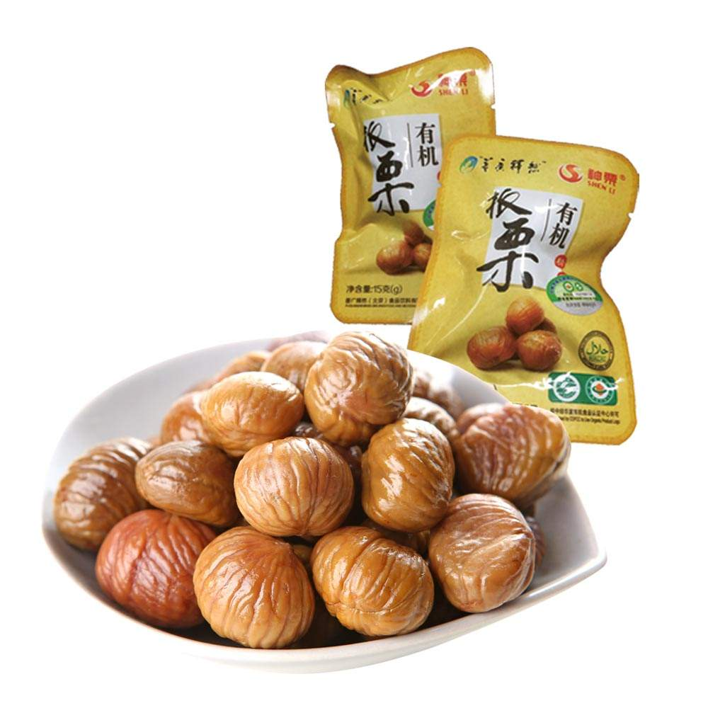 Factory hot sells best peeled chestnut healthy food