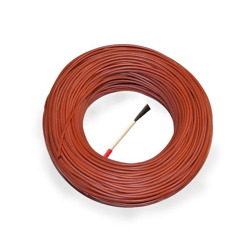 Carbon fiber heating cable Silicon rubber 12K 24K 36K self-regulating High temperature Heating Electric wire and cable