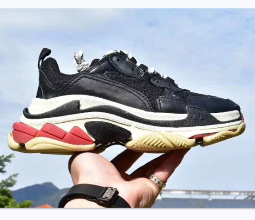 Discount Luxury Designers Sports Casual Shoe Triple S Dad Sneaker Paris Women Comfort Shoes Retro Make Old