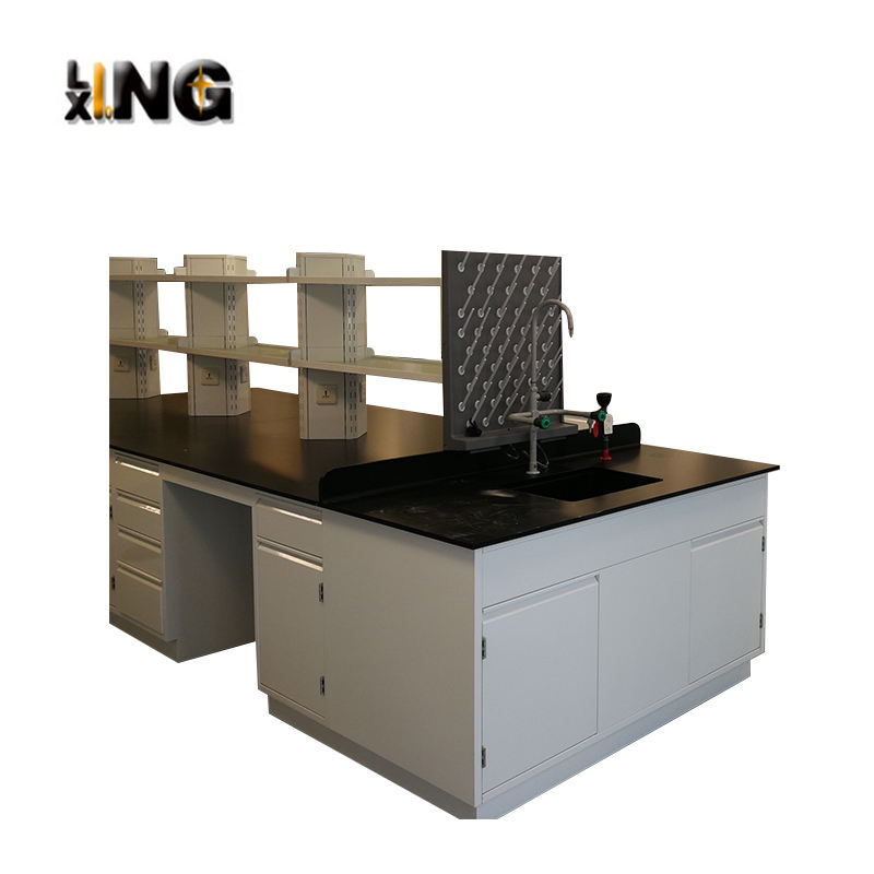 Laboratory island workbench workbench manufacturer/island lab bench