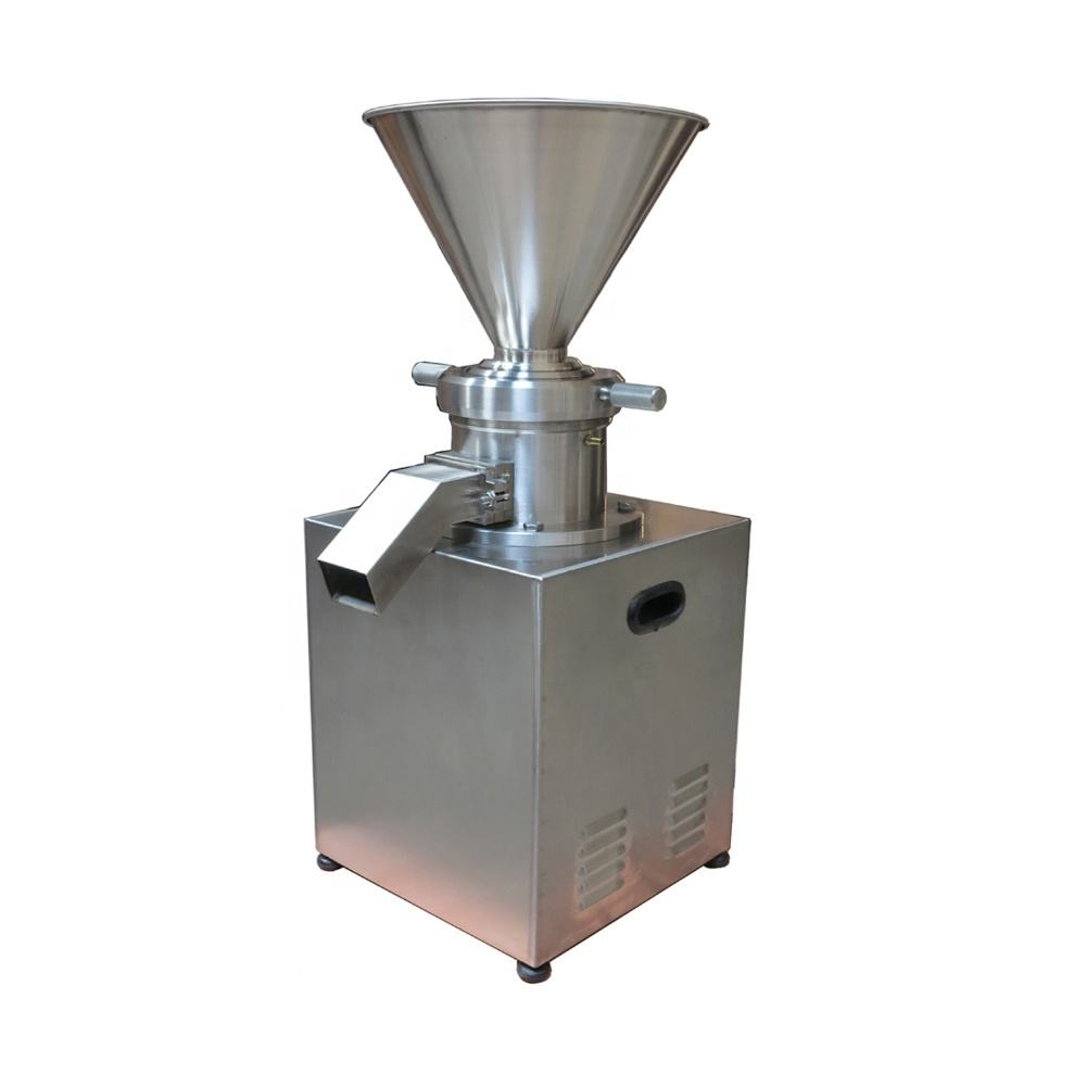80 Commercial Industrial Small Lab Chemical Almond Nut Sesame Cocoa Peanut Butter Making Machine Walnut Jelly Colloid Mill
