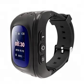 Factory price Q50 high quality kids gps tracker 2G SIM card sos calling children smart watch