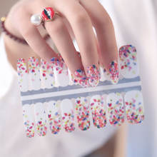 2020 New design Nail Wraps nail art decoration nail beauty