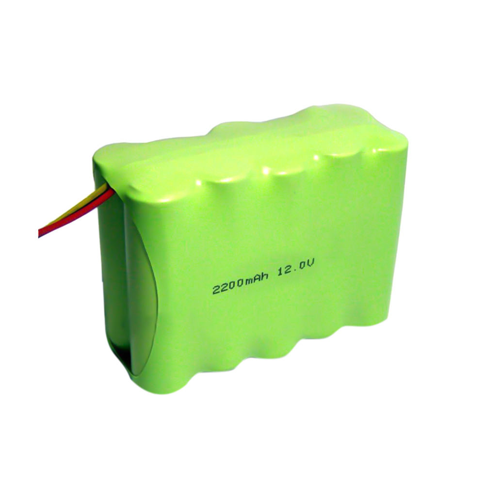 12 v 2200 mah aa nimh battery pack