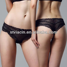 New arrival! sexy lace transparent tanga, women sheer brief