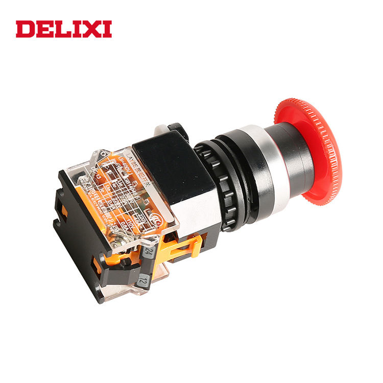 DELIXI China Building Block Type Square Push Button Switch Tactile Switches