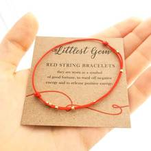 Zooying Red String Bracelet - Red string of Fate jewelry