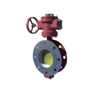 Mairine Dual Eccentricity Flanged Gas Operated Butter Valve(2FQ)