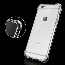 For iPhone 7/8 X XS Max XR case transparent, slim bumper raised corner back phone cover for iphone xr dustproof shockproof case